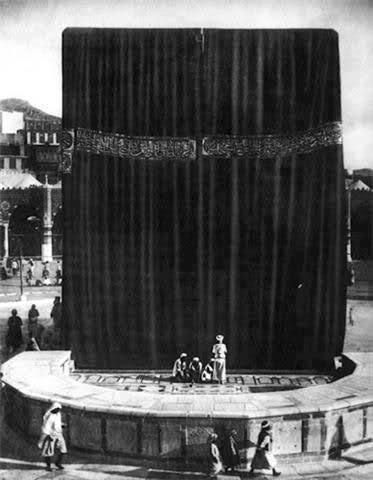 Old picture of kaabah