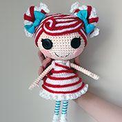 Buy Lalaloopsy Winter Snowflake Doll pattern - AmigurumiPatterns.net