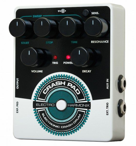 Electro Harmonix Announces Crash Pad Analog Drum Synth. | Gearjunkies.com