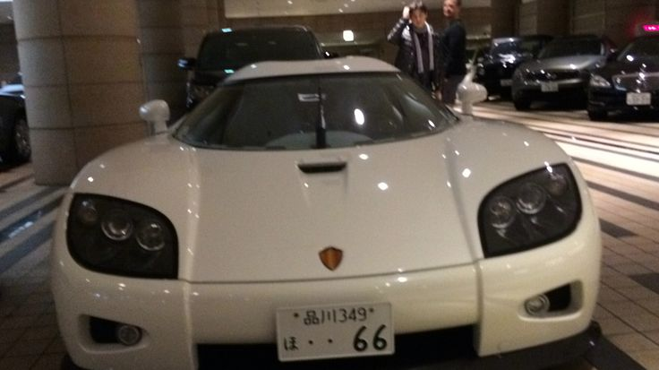 This is a 6 million dollar Koningsegg agera s. Search it up if you don't believe me. I saw it in the same hotel as the Pourche 918 spider look at the tile pat turns and sorroundings. But keep in mind they were taken on different days and from different angles. This is a hotel in Japan I am staying in.