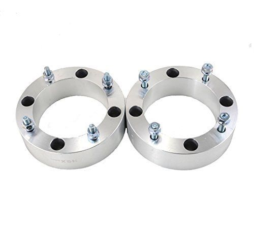 "2pcs 2.0"" 4/156 4x156 ATV Wheel Spacers for Polaris RZR Sportsman Ranger ATV UTV Yamaha Kawasaki. For product info go to:  https://www.caraccessoriesonlinemarket.com/2pcs-2-0-4-156-4x156-atv-wheel-spacers-for-polaris-rzr-sportsman-ranger-atv-utv-yamaha-kawasaki/"