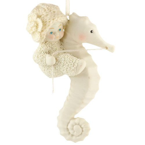 Snowbabies AND Seahorses... YES please!