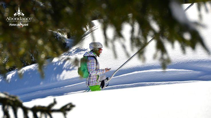 Domaine skiable de l'Essert- ski en famille - station de ski  Portes du Soleil