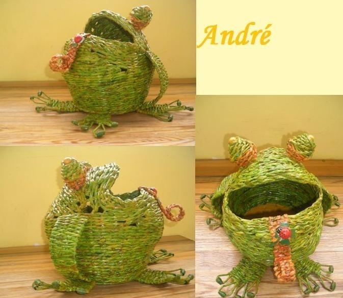 Moje prvotinka žába