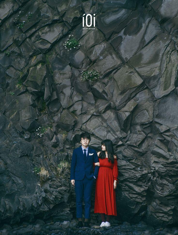 Wedding photo near basalt