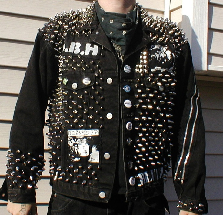 17 Best images about Studded Clothes on Pinterest | Denim jackets ...