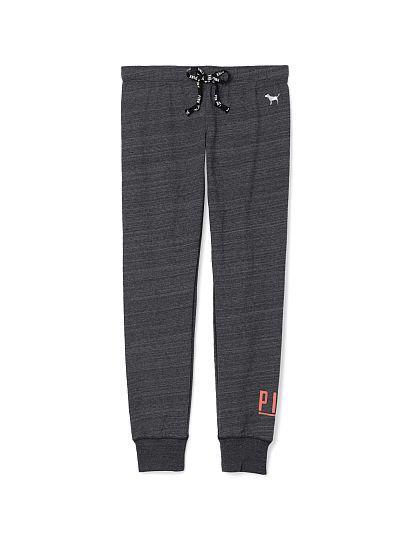 PINK Gym Pant(dark grey/marled)