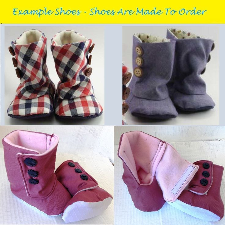Tiddywinkle Textiles - Custom Baby Shoes - Boots Product