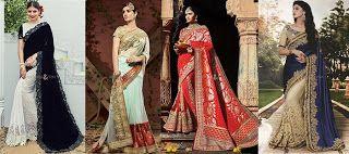 Perfect #Designer #Party Wear #Sarees  #Indian #Sari #Traditional #Wedding #HalfSaree #DesignerSaree #WeddingSareee
