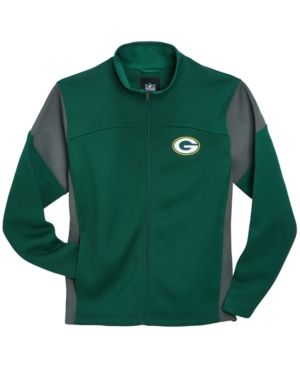G3 Sports Men's Green Bay Packers Draw Play Jacket - Green XL