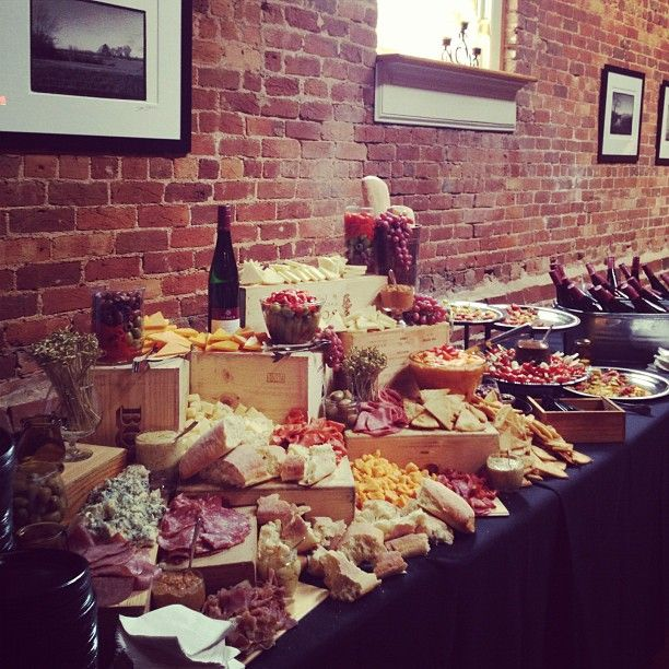 #Party #Food #Wine #Cheese #Bread #Meat