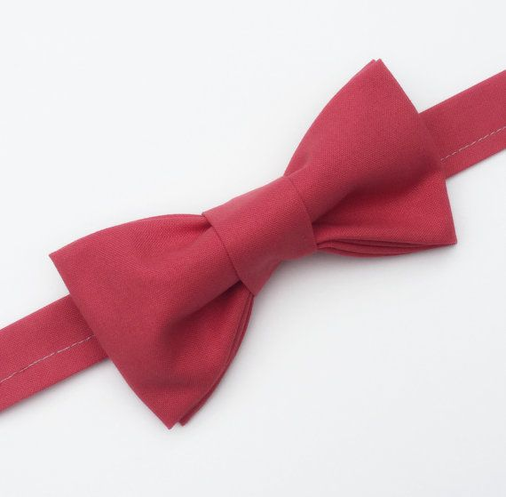 Coral Bow tie by flytiesforflyguys