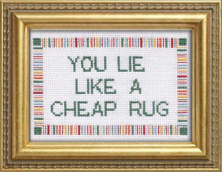 PDF: You Lie Like A Cheap Rug