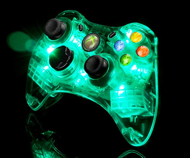 XBox controller with LED Lights