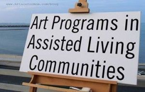 This post outlines the benefits of art therapy for senior community residents, describes some successful assisted living art programs and how they are run, and showcases some beautiful art made by memory care residents.