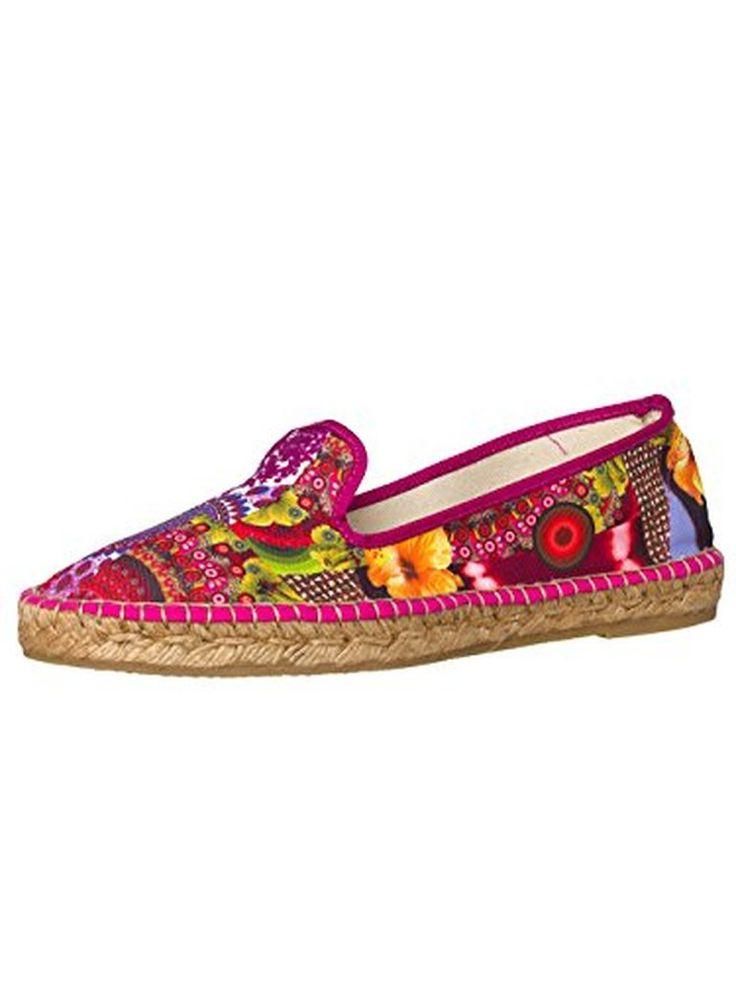 DESIGUAL® Femme Designer Espadrilles Chaussures - MAIRA - Nouvelle Collection - #Espadrilles #chaussures http://allurechaussure.com/desigual-femme-designer-espadrilles-chaussures-maira-nouvelle-collection/
