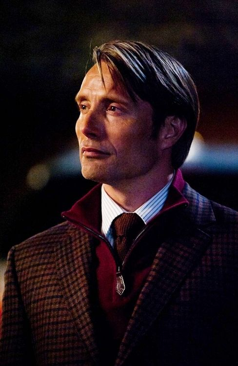 Mads Mikkelsen as Hannibal Ugghhh this man and the things.............I dare not say
