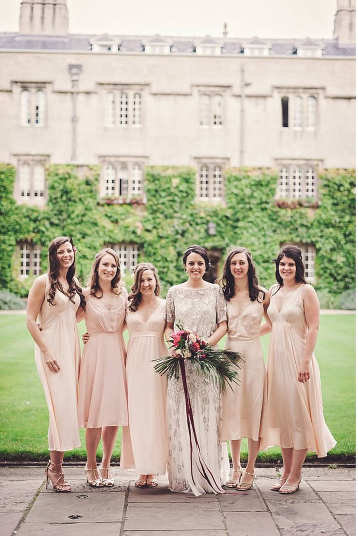 Pretty in pink. One of our bridal  parties Hair & makeup WHAM Artists http://weddinghairandmakeupartists.com/