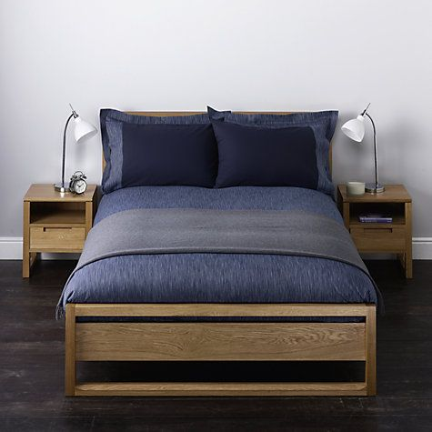 Buy John Lewis Stonewash Stripe Bedding Online at johnlewis.com