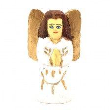Biały aniołek / white angel/ folk art from Poland