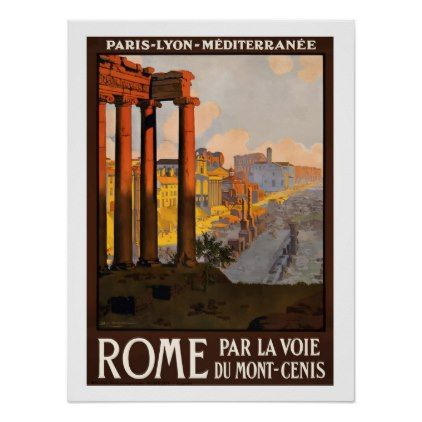 #Rome Italy antic culture travel poster - #travel #trip #journey #tour #voyage #vacationtrip #vaction #traveling #travelling #gifts #giftideas #idea