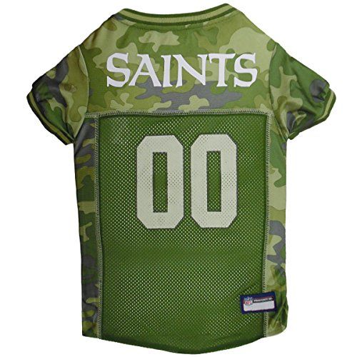 NFL NEW ORLEANS SAINTS CAMOUFLAGE DOG JERSEY, Medium. – CAMO PET Jersey available in 5 sizes & 32 NFL TEAMS. Hunting Dog Shirt . http://dogramp.org/product/nfl-new-orleans-saints-camouflage-dog-jersey-medium-camo-pet-jersey-available-in-5-sizes-32-nfl-teams-hunting-dog-shirt-2/