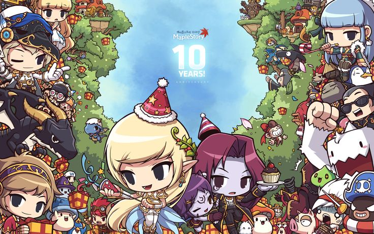 MapleStory 10th anniversary