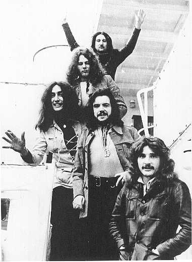 Uriah Heep, University Of Manitoba, circa 1972~Easy Livin'