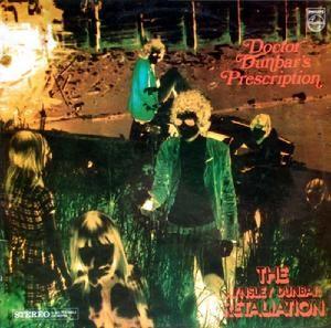 The Aynsley Dunbar Retaliation - Dr. Dunbar's Prescription (Philips, 1969).  Cover by Hipgnosis.