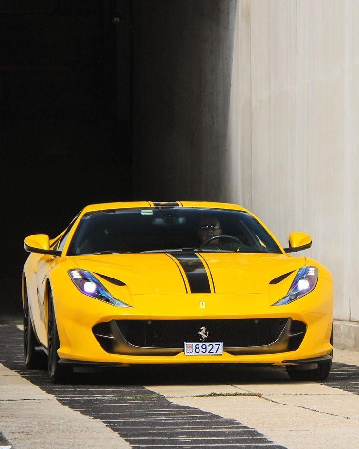 Yellow 812 Superfast James Hphotography Ferrari