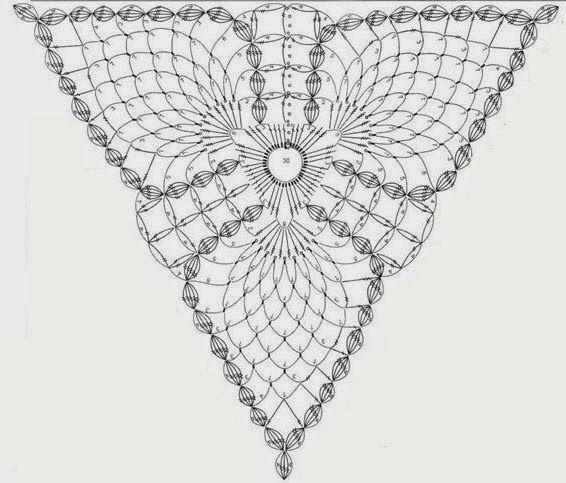 motivo triangulo