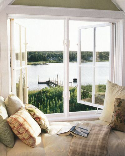Vintage Country Living - Waterfront Window Seat - Country Living