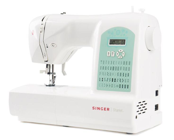 Un'ottima macchina da cucire per patchwork e quilt, l'ideale per il cucito quotidiano!   La Starlet 6660 con i suoi innumerevoli punti di cucito disponibili ti aiuta a realizzare tutto il cucito che vuoi per personalizzare ed abbellire la tua casa ed il tuo abbigliamento, in modo facile, divertente e alla moda. Tantissime funzioni di cucito per liberare la vostra fantasia! Bella, facile da usare, è adatta sia per chi comincia nel cucito per l'immediatezza dei comandi, sia per chi dalla…