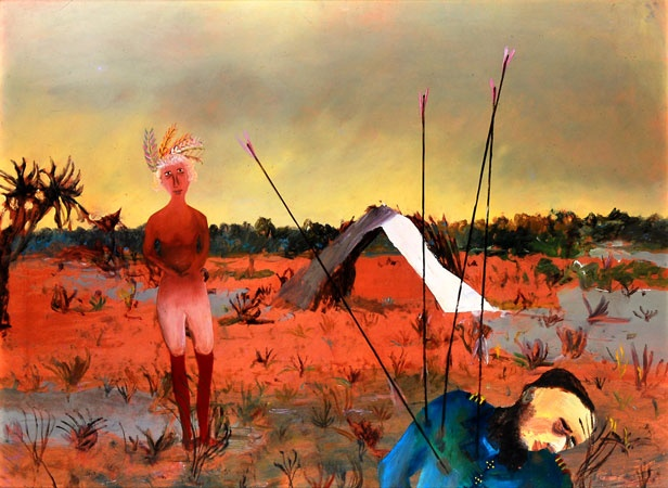 Death of Captain Fraser 1948 Sidney Nolan