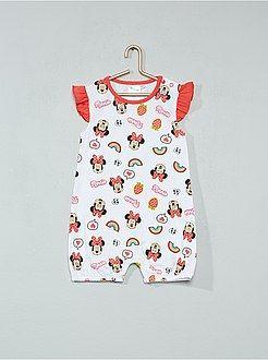 755e756ef93 Niña 0-36 meses - Pelele de algodón puro 'Minnie' - Kiabi | Cosas ...
