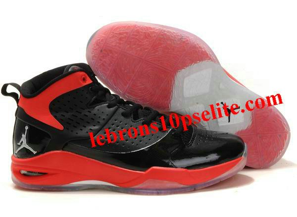 Dwyane Wade Shoes - Jordan Fly Wade Black/Taxi Red