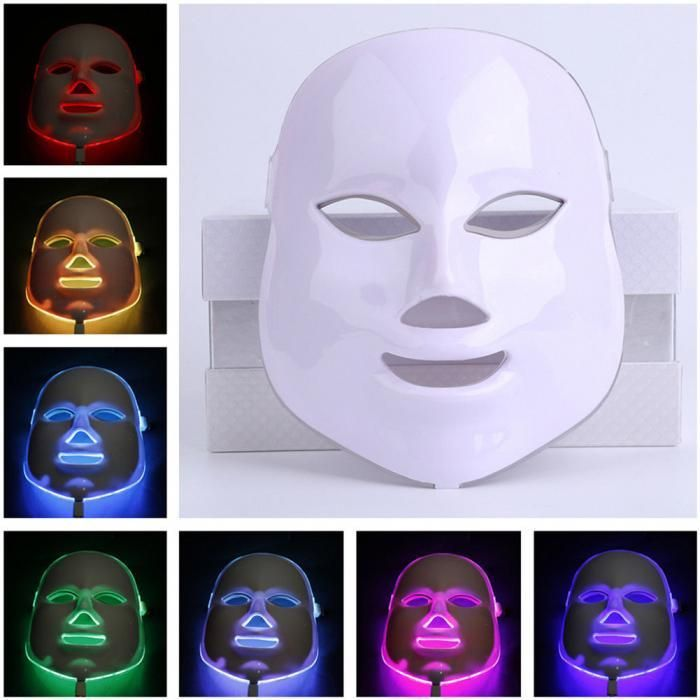 7 color Multi-function LED Facial Mask