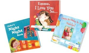 Groupon - One, Three, or Five Personalized Kids' Books from Putmeinthestory.com (Up to 67% Off) in [missing {{location}} value]. Groupon deal price: $12