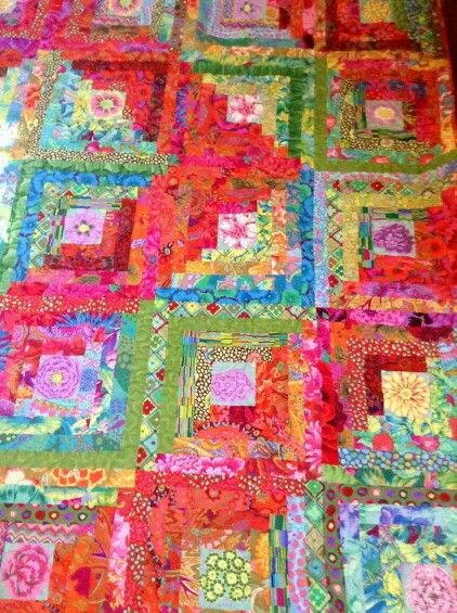 278 Best Images About Kaffe Fassett Fabric Quilts On