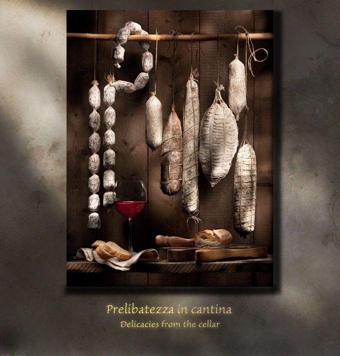 Light Painting - Light Art - Renato Marcialis - Prelibatezza in cantina - 2010