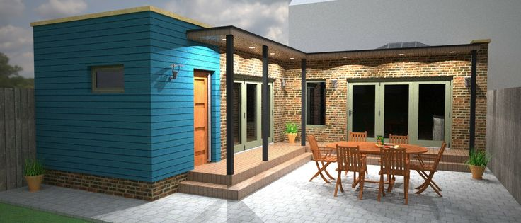 Extra large extension designed for a semi/detached property