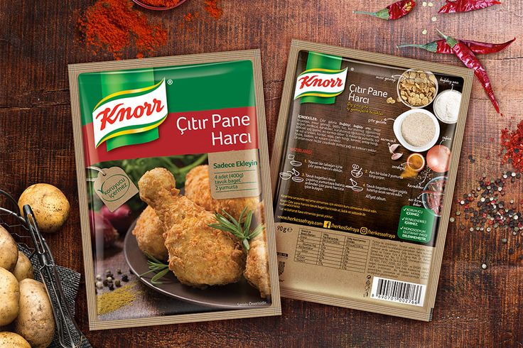 #packaging #design for #knorr #mealmakers range in Turkey by Orhan Irmak Tasarım | Creative Packaging & Design