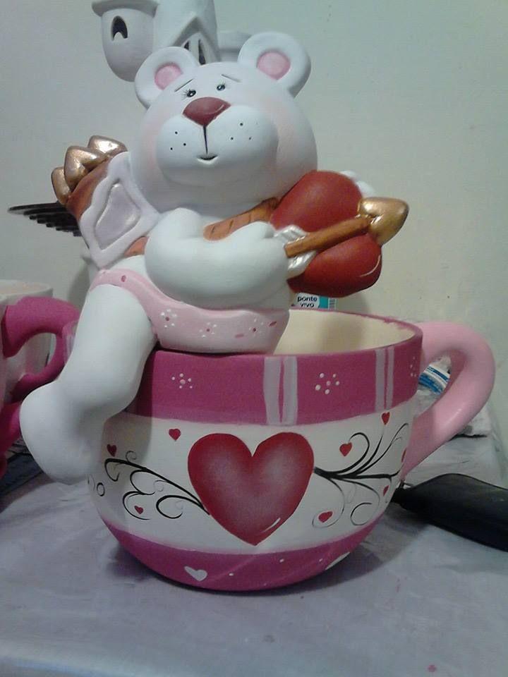 taza con oso