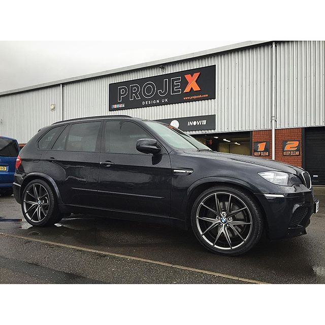 Mulpix Bmw X5m Lowered Down And New 22 Quot Niche Misano