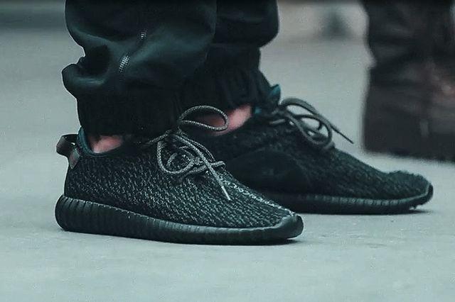 Adidas yeezy boost-low-350-black