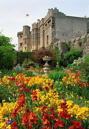 Thornbury Castle, the only Tudor castle in England that operates as a hotel, and guests enjoy the 16th-century dining hall draped with tapestries and armor, wine from the 500-year-old castle vineyard, and stone-walled bedchambers complete with four-poster beds and roaring fireplaces.