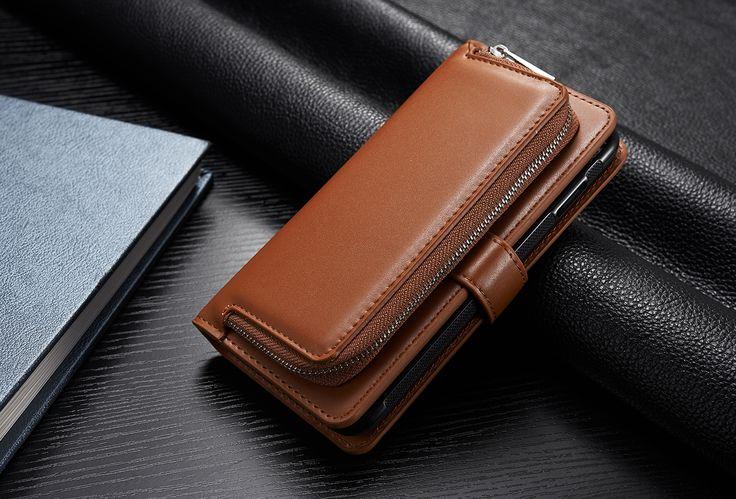 Multifunctional Detachable Wallet Card-Slots PU Leather Case for iPhone7/7Plus/6/6s/6Plus/6sPlus