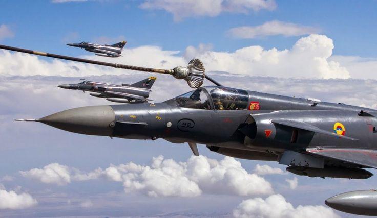 O caça israelense IAI Kfir já foi utilizado em combate com sucesso no Oriente Médio (FAC)