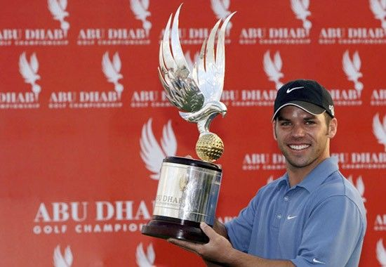 Paul Casey the 2007 Abu Dhabi Golf Championship winner. From the UAE Golf Hall of Fame - http://www.uae-golf-online.com | Image: Credit: Getty Images.