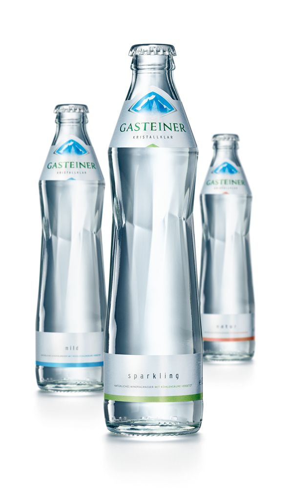 Gasteiner Mineral Water by Brandt Nelson, via Behance